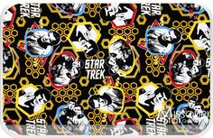 #Star #Trek - #Crew #Yellow Yardage - #Camelot #Design #Studio - Camelot Cottons
