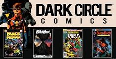 """""""Dark Circle characters"""" are the Archie Adventure Series Mighty Comics Group. They include: The Shield, The Fox, Hangman, The Black Hood, and The Mighty Crusaders. We now have the new series Dark Circle Heroes at our Indie comics World page. Check them out Today!! http://tomatovisiontv.wix.com/tomatovision2#!indie-comics-world/c1dbg"""