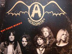 Aerosmith - Get Your Wings LP - 1974 - Columbia Records KC 32847 - Vintage Vinyl LP Record Album. $8.00, via Etsy.