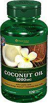 Vitamin World Organic Coconut Oil, 1000mg, with Lauric Acid, 120 Softgels - http://goodvibeorganics.com/vitamin-world-organic-coconut-oil-1000mg-with-lauric-acid-120-softgels/