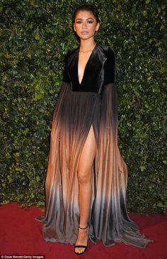 Zendaya steals the show atEvening Standard Theatre Awards | Daily Mail Online