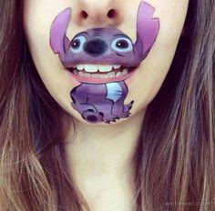 Beautiful and Creative Lip Art ideas   picz4pin