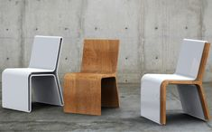 Silla Guarda 2 in 1 Chairs Shed Their Skin for a Surprise
