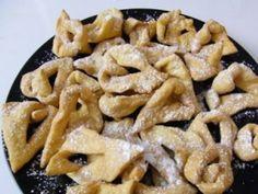 "Hungarian Christmas Angels' Wings Fried Cookies - ""Csoroge"" (Hungarian Name)"
