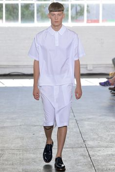 Duckie Brown Spring 2014 Menswear Collection Slideshow on Style.com