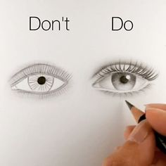 VIDEO || @ silviemahdal_art - Basic tips for realistic drawing of an eye.