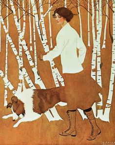 "Life Magazine Cover "" Illustrated by Clarence Coles Phillips Thanks for posting this wonderful cover illustration."