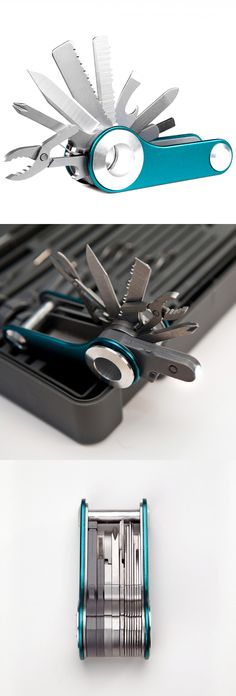 Switch by Quirky, the ultimate modular pocketknife that features 18 different attachments so you can mix and match your most frequently used tools