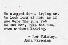 anna karenina, my favorite Tolstoy <3