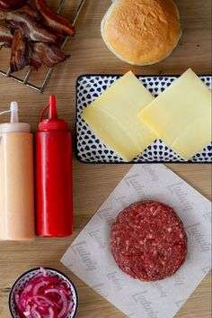 Onion Burger, Ludwig, Bacon, Dairy, Cheese, Food, Essen, Meals, Yemek