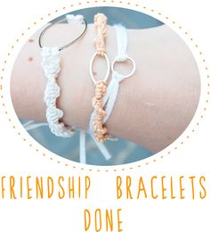 Time for Tea: Make it Week #9- Friendship bracelets!