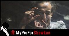 IL NE FAISAIT QUE SON TRAVAIL  RSF a lancé mardi sur les réseaux sociaux la campagne #MyPicForShawkan pour la libération du photojournaliste Mahmoud Abu Zeid. Plus connu sous son pseudonyme Shawkan cet Egyptien de 31 ans est en prison depuis près de cinq ans. Le 3 mars le parquet a requis la peine capitale contre lui.  Mahmoud Abu Zeid  Shawkan Jeune photojournaliste a été arrêté le 14 août 2013 alors quil couvrait le démantèlement par larmée du sit-in de Rabaa al Adaweya au Caire.  Signer…