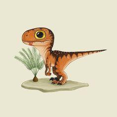 Cute Animal Drawings, Cute Drawings, Dino Drawing, Baby Dinosaurs, Dibujos Cute, Dinosaur Art, Dragon Art, T Rex, Cute Art