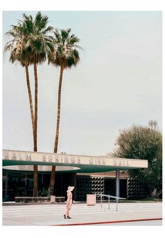 Palm Springs City Hall by Albert Frey. Image courtesy of Lumas California Dreaming Photo Essay by Stephanie Kloss Richard Neutra, John Lautner, Palm Springs, Residential Architecture, Modern Architecture, California Architecture, Canopy Architecture, Albert Frey, Gropius Bau