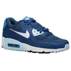 uk availability 1370f 2f035 Air Max 90, Nike Air Max, Hakken, Blauwe Schoenen