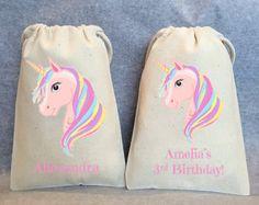 Mini party favors Unicorn birthday Unicorn party favor