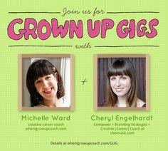 Grown Up Gigs: Composer + Branding Strategist + Creative Career Coach, Cheryl B. Englehardt