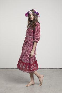 Vintage Indian dress