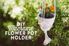 Macrame Pot Holder