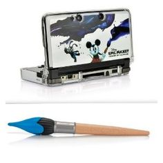 Amazon.com: Epic Mickey Crystal Armor & Paintbrush Stylus Character Kit (Nintendo 3DS, Does not fit 3DS XL): Video Games