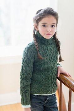 Вяжем детский свитерок от Бруклин Твид - Вяжем вместе он-лайн - Страна Мам