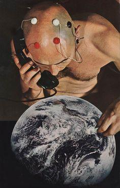 Les étranges collages surréalistes de David Delruelle