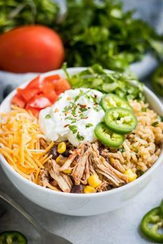Crockpot Chicken Dinners, Slow Cooked Meals, Slow Cooker Recipes, Crockpot Recipes, Healthy Recipes, Chicken Recipes, Chicken Cooker, Freezer Recipes, Freezer Cooking