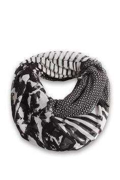 Esprit - Gemusterter Loop-Schal im Online Shop kaufen