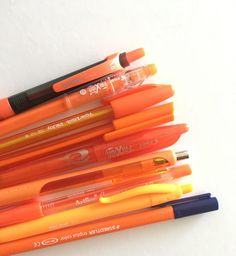 best planner pens orange color coding how to color code your planner inkjoy paper mater milan frixion artline staedter review