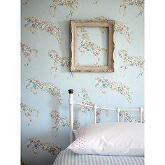 Buy Sanderson Pretty Ponies Wallpaper Online at johnlewis.com