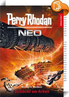 Perry Rhodan Neo 121: Schlacht um Arkon    ::  Nachdem der Astronaut Perry Rhodan im Jahr 2036 auf dem Mond ein außerirdisches Raumschiff entdeckt hat, einigt sich die Menschheit – es beginnt eine Zeit des Friedens. Doch 2049 tauchen beim Jupiter fremde Angreifer auf. Es sind Maahks, und sie planen einen Krieg gegen das Imperium der Arkoniden. Rhodan spürt dieser Bedrohung nach, und es verschlägt ihn mit der CREST in den Leerraum außerhalb der Milchstraße. Dort begegnet er den Posbis. ...