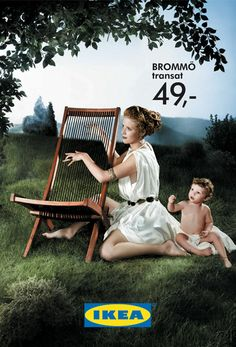#Ikéa #Mythologie #publicidiad | #ads #adv #marketing #creative #publicité #print #poster #advertising #campaign < repinned by www.BlickeDeeler.de | Visit our inspirational website www.Printwerbung-Hamburg.de