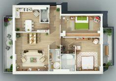 Apartamento bonito