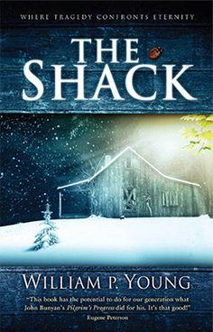 """The Shack - William Paul Young.   In a world where religion seems to grow increasingly irrelevant The Shack wrestles with the timeless question, """"Where is God in a world so filled with unspeakable pain?"""" After Receiving an Invitation from God, The answers Mack gets will astound you and perhaps transform you as much as it did him. Book and Movie"""