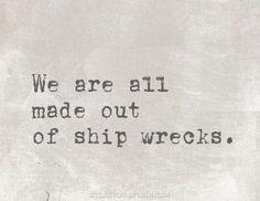 Just ship wrecks