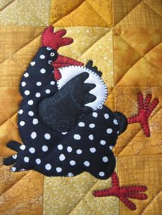 chicken applique blocks - Google Search