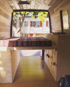 As Cyrus Sutton travels to surf, check out his living quarters - his van. Watch how he turned his van into the perfect living space.