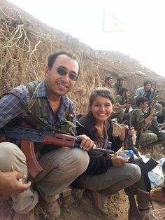 This morning after #ISIS retreat. #Kurds are 'boots on the ground' Time 2 #ArmTheKurds #Kobane