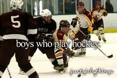 Hockey girlfriend :)
