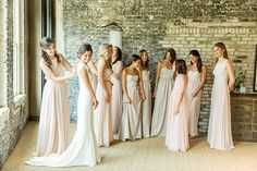 Dying to nail the mismatched bridal party trend? See how we put together the look using Paper Crown bridesmaid dresses