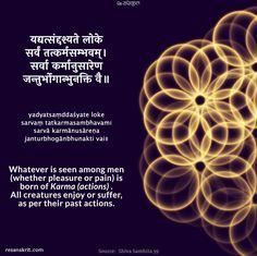 Sanskrit Shloks: Sanskrit Quotes, Thoughts & Slokas with Meaning in Hindi Sanskrit Quotes, Sanskrit Mantra, Gita Quotes, Vedic Mantras, Sanskrit Words, Karma Quotes, Hindi Quotes, Sanskrit Tattoo, Drake Quotes