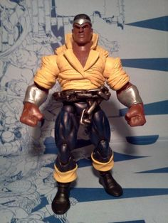 Power Man (Marvel Legends) Custom Action Figure