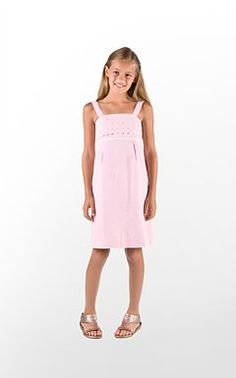 Lilly Pulitzer dress that is perfect for the summer.