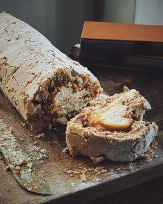 Rhubarb Cordial Recipe — A Bookish Baker Baking Recipes, Cake Recipes, Dessert Recipes, Easy Desserts, Rhubarb Crumble, Rhubarb Rhubarb, Rhubarb Recipes Savory, Roulade Recipe, Deserts