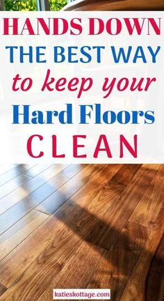 How To Clean Laminate Flooring, Clean Hardwood Floors, How To Clean Floors, Best Hardwood Floor Cleaner, Painted Floors, House Cleaning Tips, Cleaning Hacks, Cleaning Schedules, Cleaning