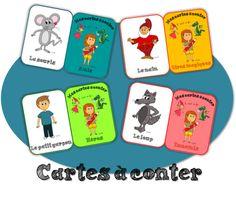Production d'écrit - Les cartes à conter French Teacher, French Class, Teaching French, Teaching Writing, Writing Activities, Teaching Tools, Teaching Kids, Kids Learning, Professor