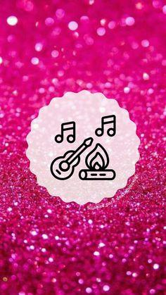"""Capas para destaques do instagram tema """" Glitter Rosa """"( para mais complementação segue o insta @capas_para_destaques_liih) Glitter Rosa, Pink Glitter, Pink Instagram, Instagram Story, One Word Quotes, App Logo, Instagram Highlight Icons, Instagram Ideas, Cape Clothing"""
