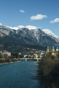 Der wunderschöne Inn Innsbruck, Alps, Austria, Mount Everest, Pakistan, Tourism, Beautiful Places, Mountains, World