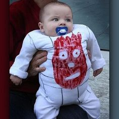 Kids' Halloween Costumes That They're Too Young to Understand: Wilson, Cast Away