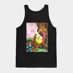 Tank Tops by fairychamber Wearable Art, Fantasy Art, Tank Man, Tank Tops, Illustration, Prints, Fashion, Moda, Halter Tops